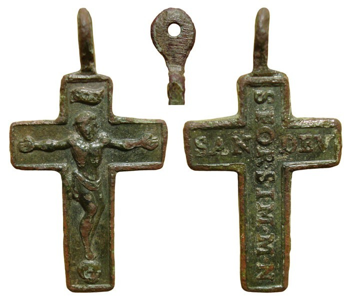 Crucifijo bifaz Trisagio de la SS. Trinidad. S-XVIII - CC-018  - [Pec019/S-XVIII]* YMj2uQ