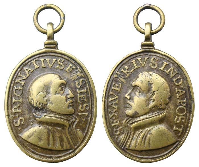 San Ignacio de Loyola / San Francisco Javier - MR(453) (R.M. SXVII-O365) Bi9la2