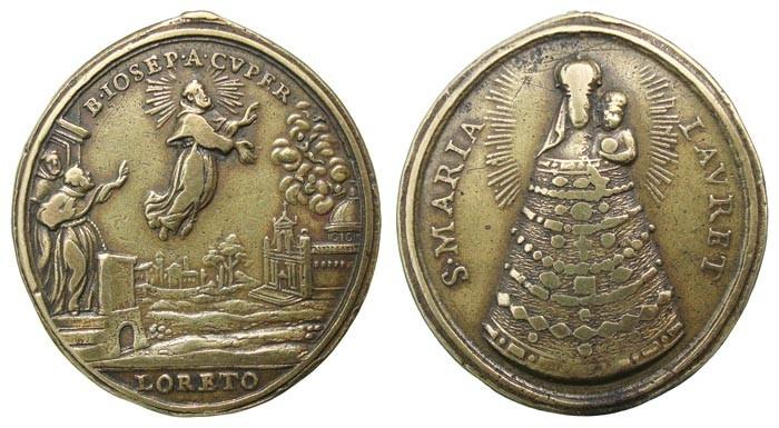 Beato José de Cupertino / Virgen de Loreto (R.M. SXVIII-O279) DO2EN9