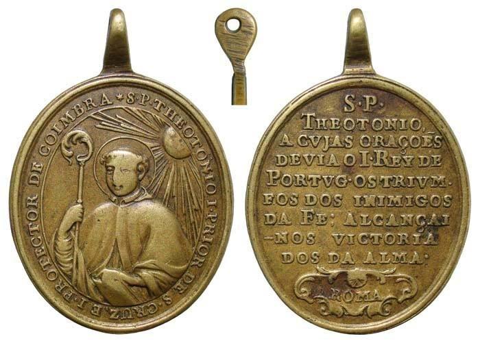 San Teotonio / Inscripción - MR(460) (R.M. SXVIII-O278) P51Q1x