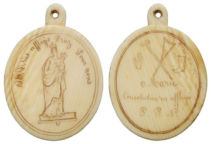 Virgen de los Afligidos / Exvotos e inscripción - OO(023)(R.M. SXIX-O58) Qm8Dqm