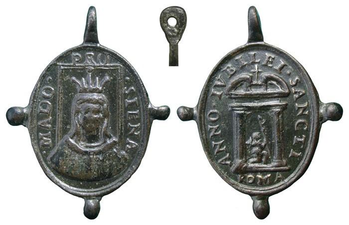 Medalla Virgen de Provenzano / Puerta Santa - MR(451) (R.M. SXVII-O361) UUPOR7