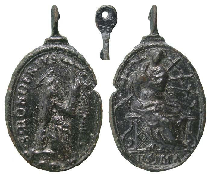 San Onofre / Virgen Dolorosa - MR(463)(R.M. SXVII-O367) BHDBhO
