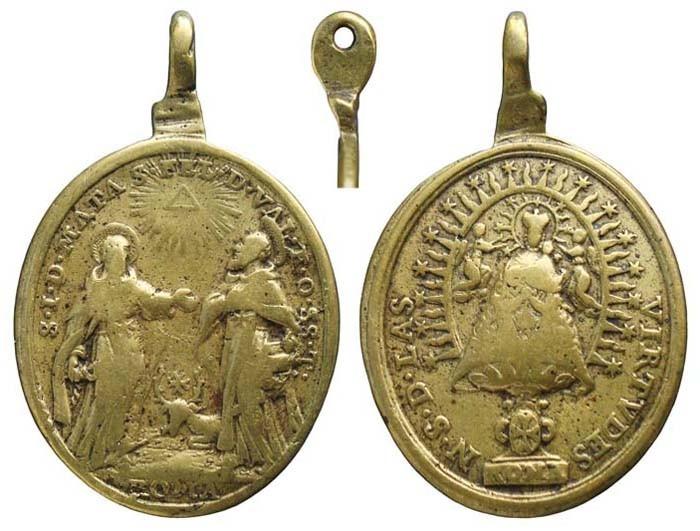 San Juan de Mata y San Felix de Valois / Nuestra Señora de las Virtudes - MR(429) N1FH86