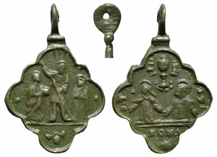 Algunas formas atípicas de medallas. Mr217