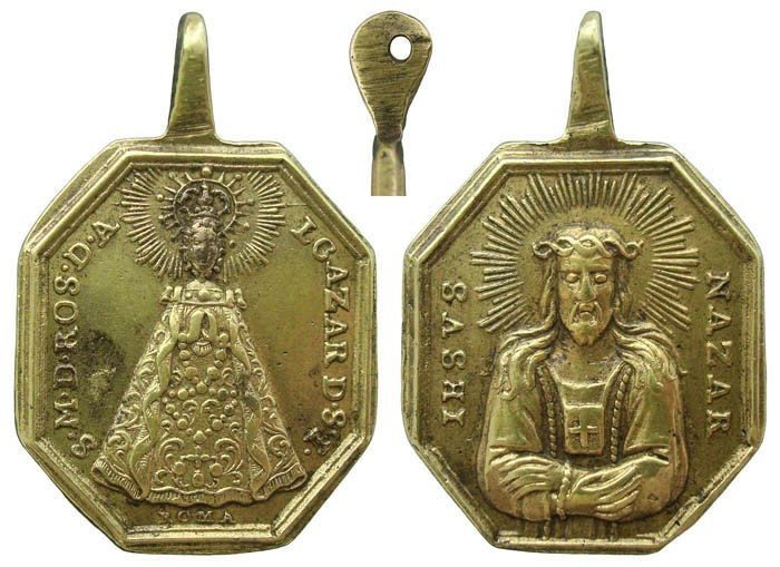 Virgen del Rosario de Alcázar de San Juan / Jesús Nazareno - MR(468)(R.M. SXVIII-P78) 3hBcMk