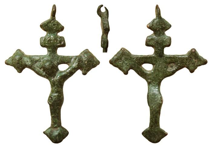 Crucifijo gotico tardio S-XV ,  CC-024* 5MS0Nu