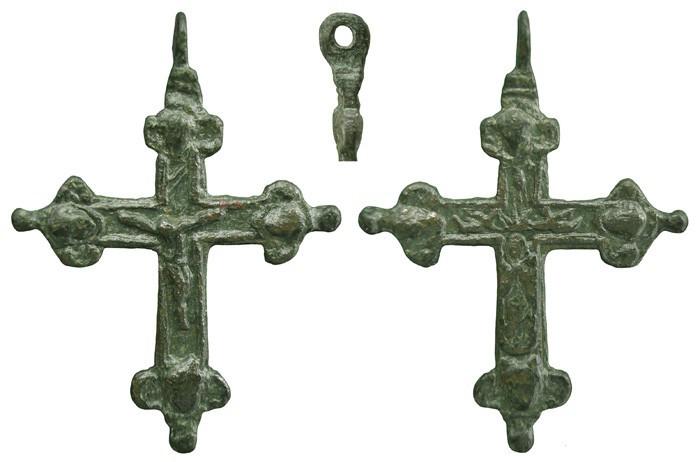 Crucifijo bifaz con pezuelos, Inmaculada. S-XVII – CC-038- [Pe044/S-XVII]* KMLZ3J