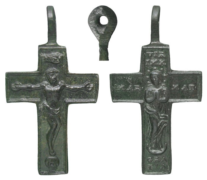 Cruz pectoral bifaz Inmaculada S-XVIII- CC-034 - [Pec029/S-XVIII]* M4Kxlt