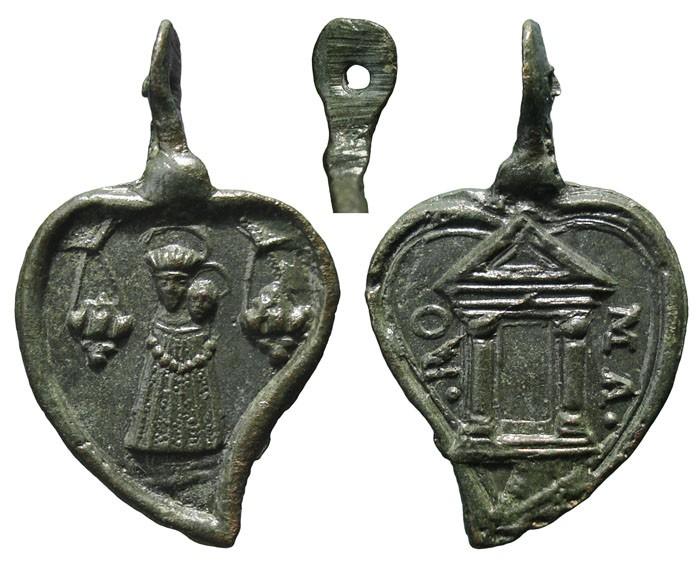 Virgen de Loreto / Puerta Santa - s. XVII- (RM SXVII-Ot72) MR(437) SZiCZn