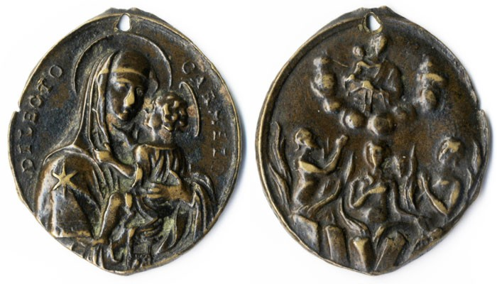 Virgen del Carmen / Animas del purgatorio S.XVIII - MR(005) G4iBh3