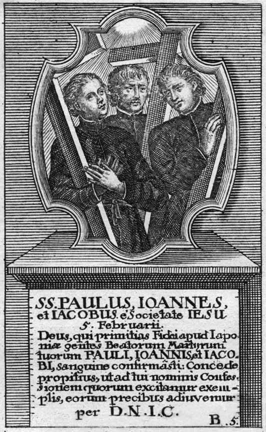 martires - San Francisco de Borja / Mártires del Japón - MR(458) Z1UWwg