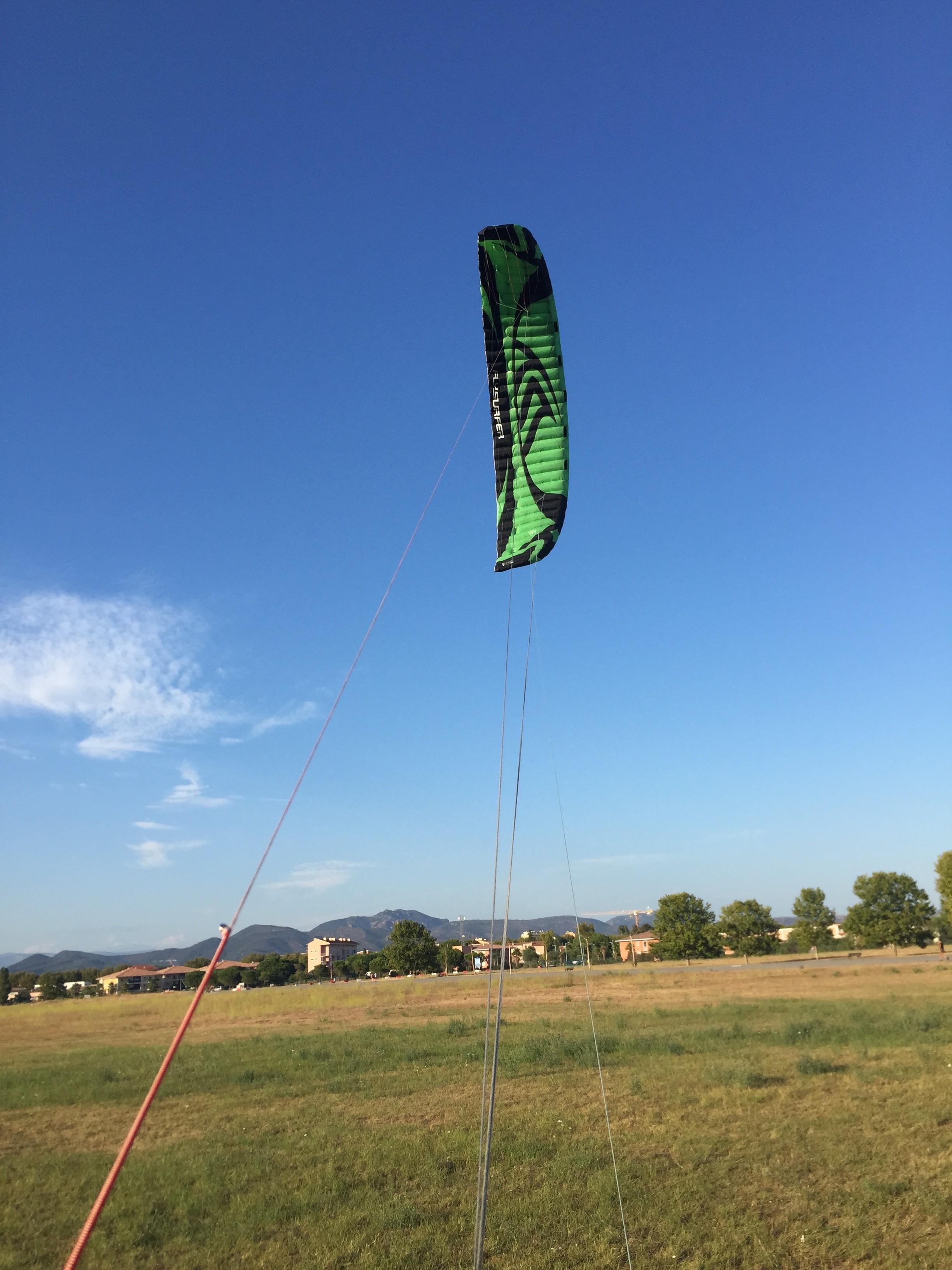 {VENDUE} Flysurfer speed3 green edition 19m2 700E Y7B7m7