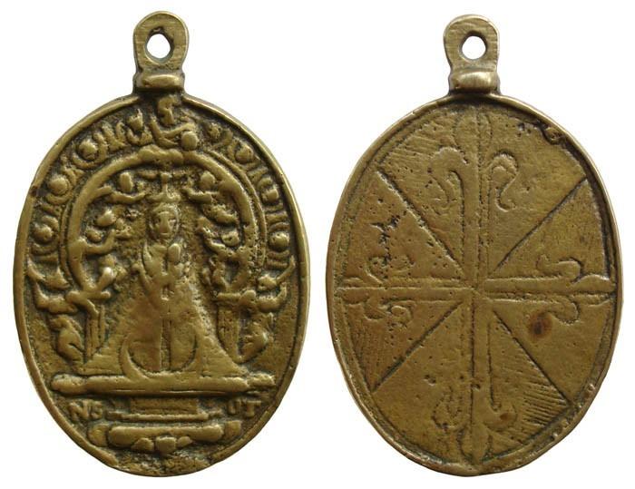 V. del Prado de Talavera / Emblema Dominicos - MR(040) (SXVII-O112)(MAM) YlsGgx