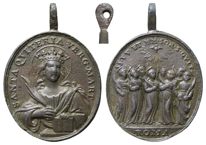 quiteria - Santa Quiteria / Hermanas de Santa Quiteria - MR(411) OPHbkp