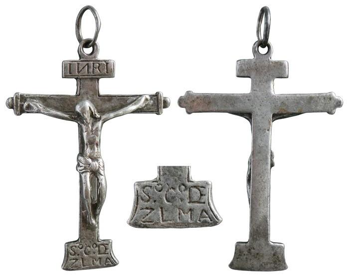Crucifijo Cristo de Zalamea . S-XVII - CC-070 - [Pec038/S-XVII]* 2C2ADL
