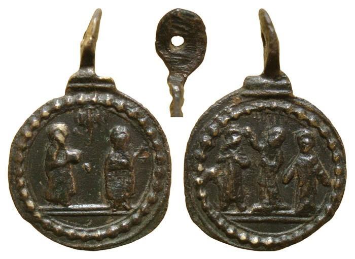 Santos canonizados en 1622 MR(085) MR(086) (MR(087), S. XVII IZqM7g