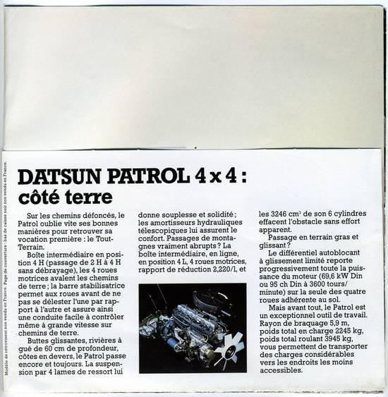 Besoin de votre avis , futur projet Nissan PATROL baroud 1NXPQ2