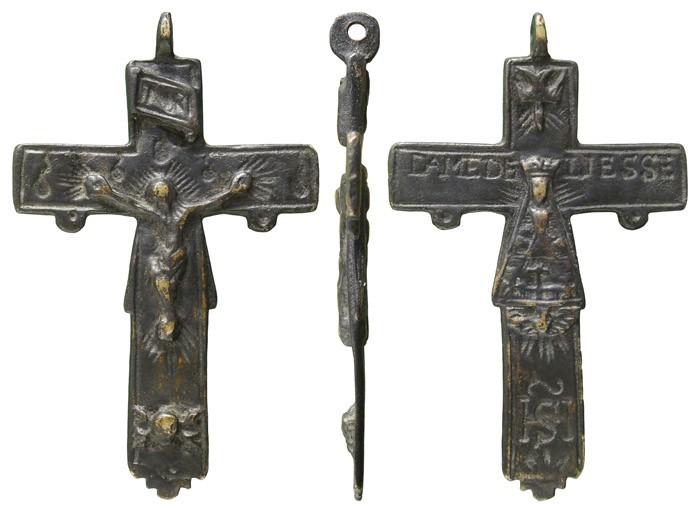 Crucifijo pectoral del Santuario de Liesse - CC092 JUiX2k