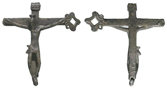 Crucifijo pectoral (fragmento)  CC-028 QoNjp8