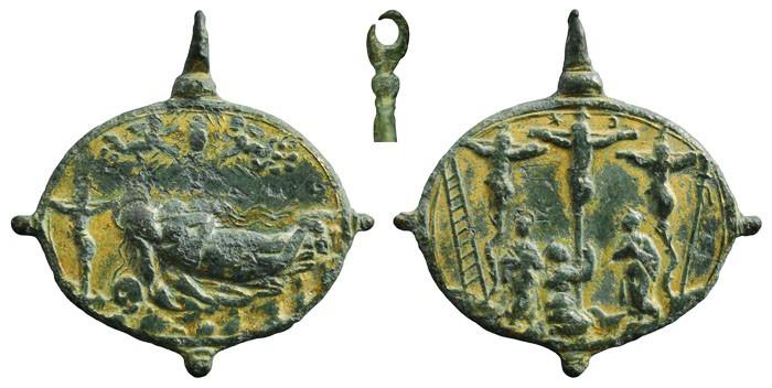 Algunas formas atípicas de medallas. CbuqND