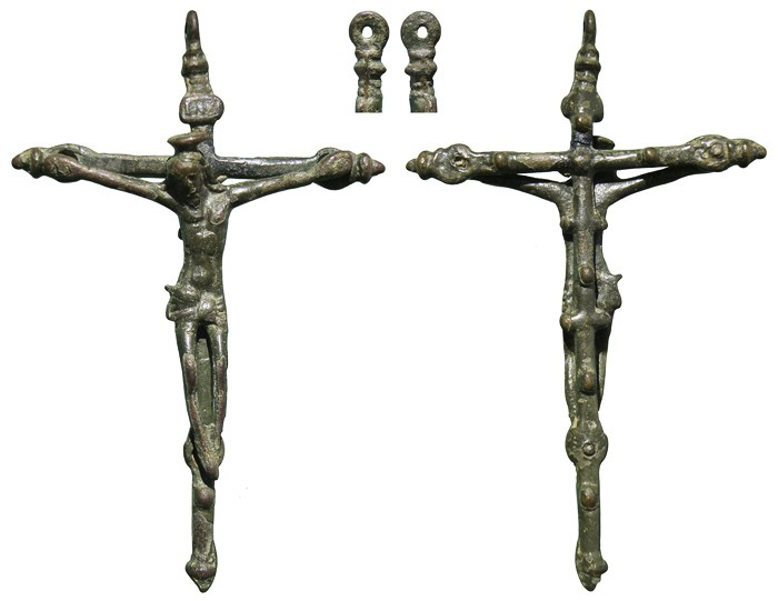 crucifijo barroco - Crucifijo barroco ff S-XVI - pp S-XVII - CC-032 -[Pec 002/S-XVI]* XguX5M