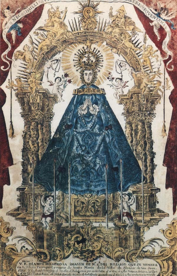 Virgen del Rosario de Alcázar de San Juan / Jesús Nazareno - MR(468)(R.M. SXVIII-P78) Rrdni6