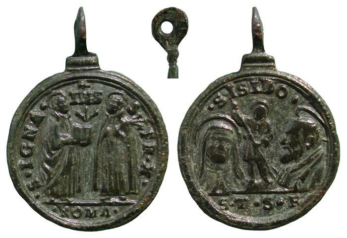 Santos canonizados en 1622 MR(085) MR(086) (MR(087), S. XVII TUIiiu