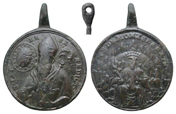 San Benito / Virgen de Montserrat – S. XVIII -MR(108) 1P2VpP