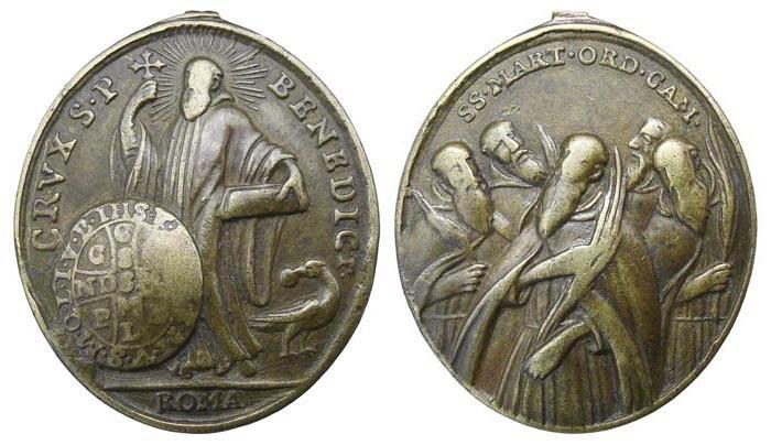 San Benito / Los cinco  mártires de la Camáldula - MR(464)(R.M. SXVIII-O284) Km6EYm