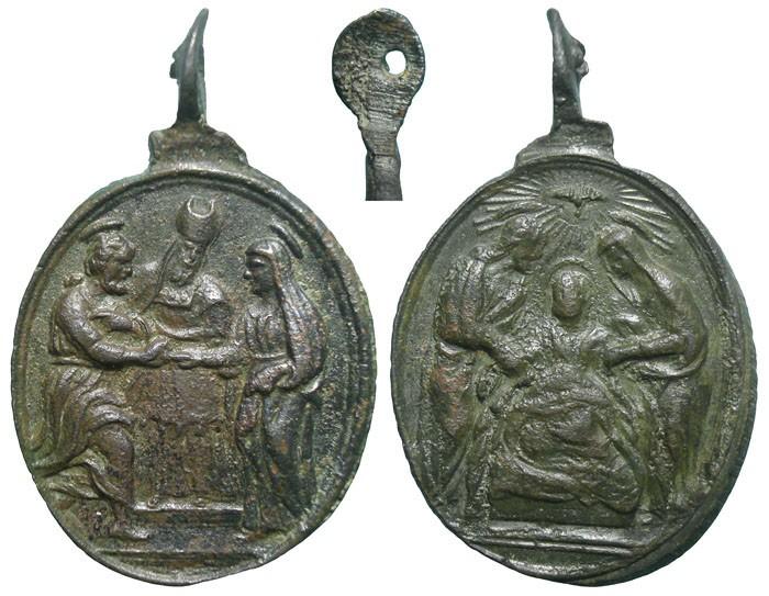 Matrimonio de San José y la Virgen María / Muerte de San José - MR616 (R.M. SXVII-O482) 6HehBU