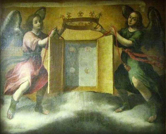 Los Sagrados Corporales de Daroca / Virgen del Pilar - MR516 (R.M. SXVIII-O326) 8jObpw