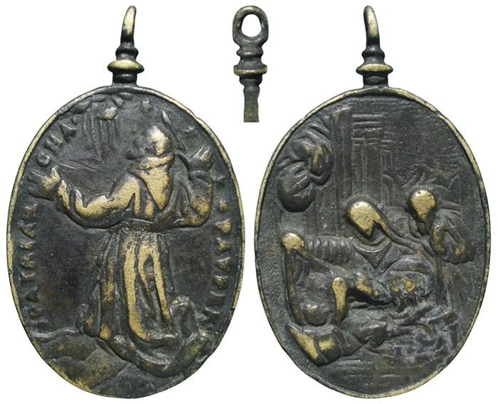 San Francisco de Asís / Natividad de Jesús - MR665 (R.M. SXVII-O501) DuGCEL