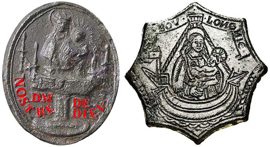 Virgen a identificar / Crucifixión  (R.M. SXVII-O428) FS0QR0