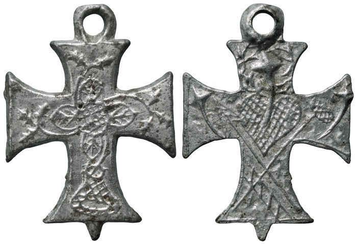 Cruz con pezuelo triangular - CC110  ULVEPm