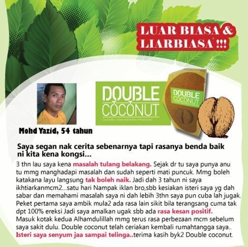 Double Coconut Original Murah | 100% Original Dgn Harga Prom Bmddd2