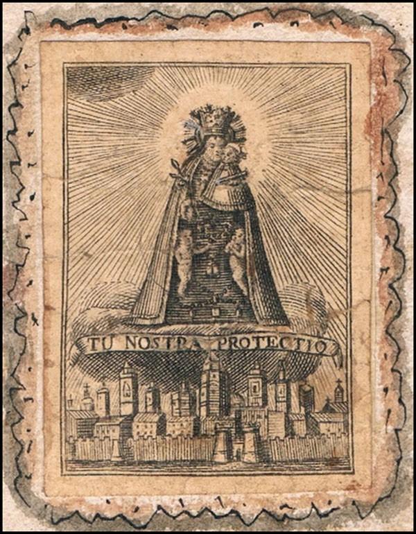 Santa Orosia  / Virgen de los Desamparados - MR681 (R.M. SXVIII-C173) EG56rW