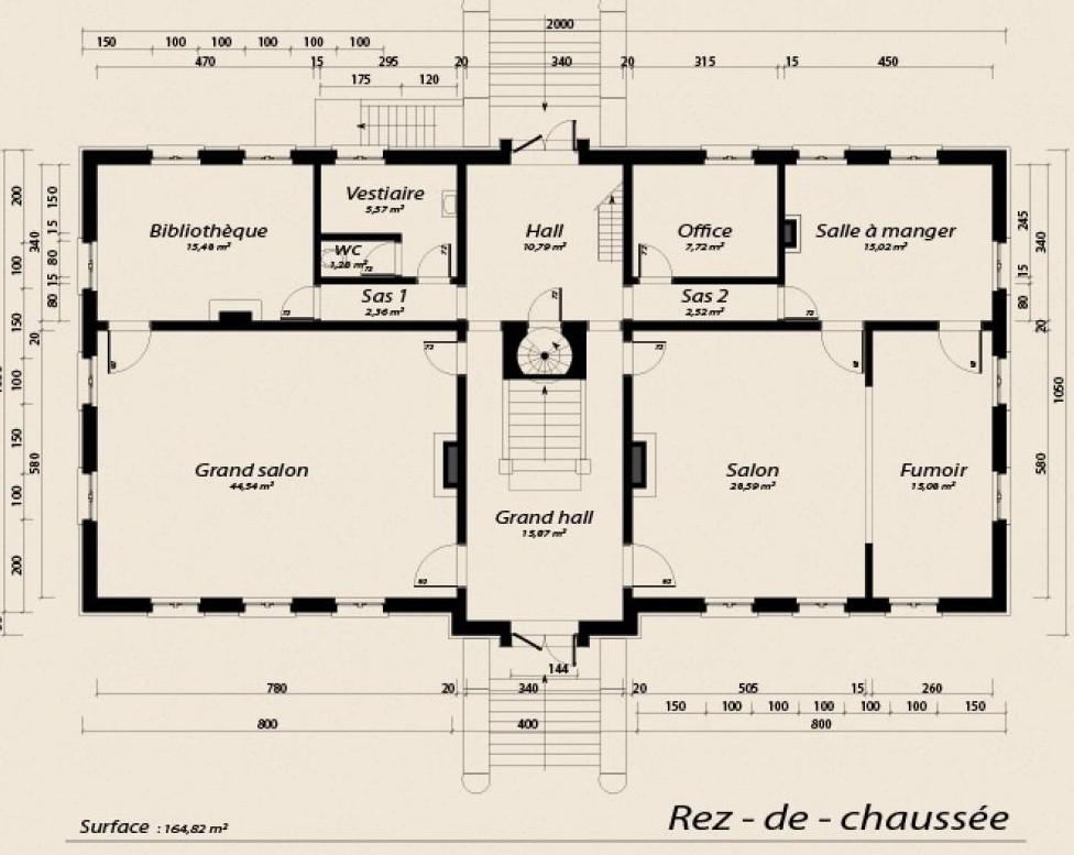 Le Château de Moulinsart, 1/60 scratch par migou31 - Page 5 EXQCDn