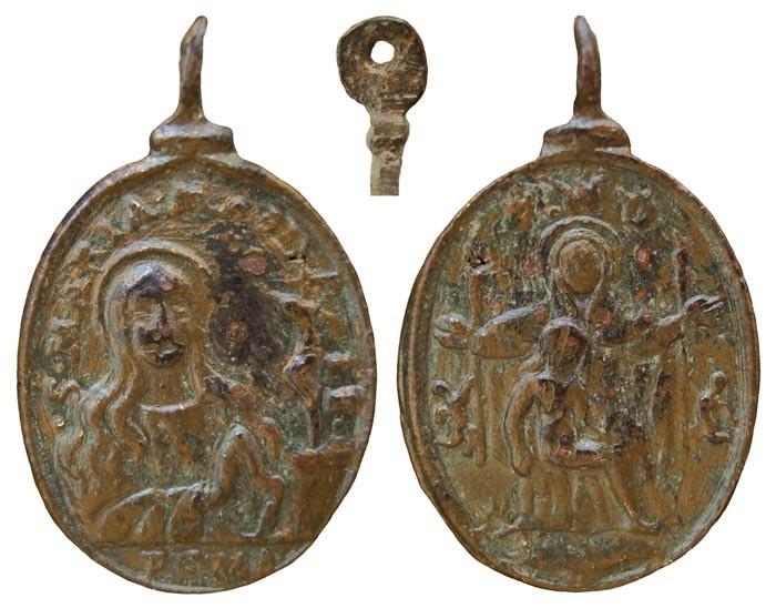 Piedad  /  Santa Maria Magdalena  S.XVII (R.M.SXVII-O157) EzsJVE