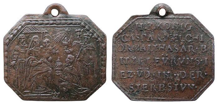 Adoración de los Magos / Inscripción - MR505 (R.M. SXVII-P116) 0QwZM8