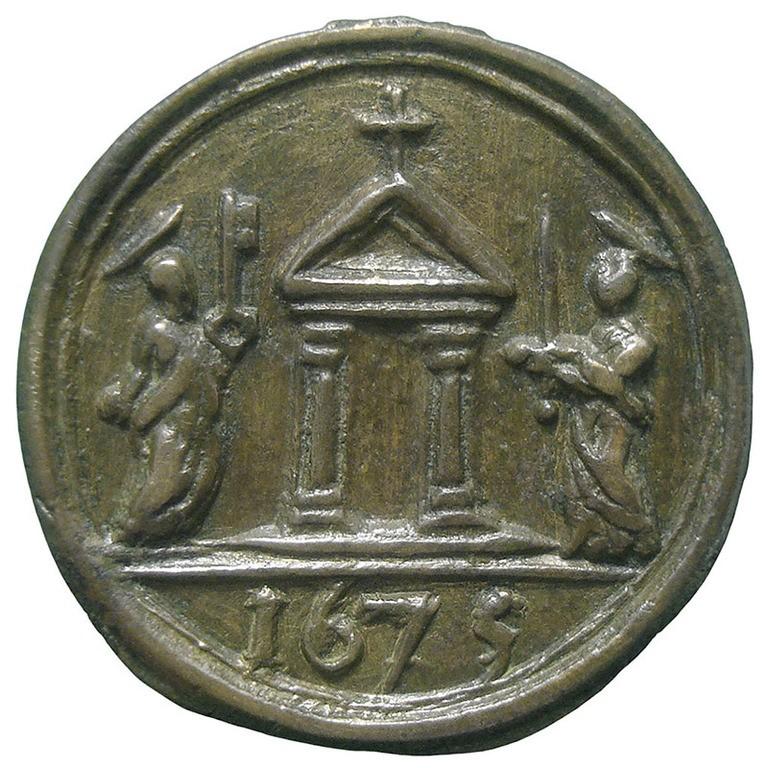 Jubileo de 1675 – Virgen del Rosario / Puerta Santa - MR819 0YJQzZ