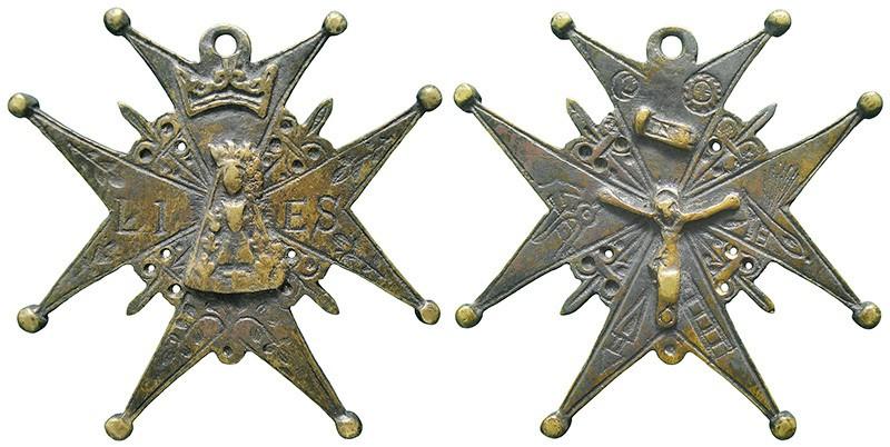 Cruz de Cofradia de Notre Dame de Liesse (Pasión) 2zN19g