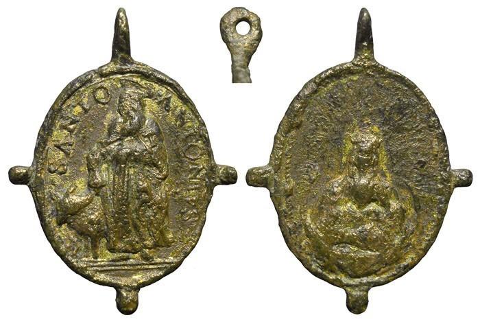 San Antonio Abad / Santa María in Vallicella  - MR567 ( R.M. SXVII-O453) (M) 2zfnyX