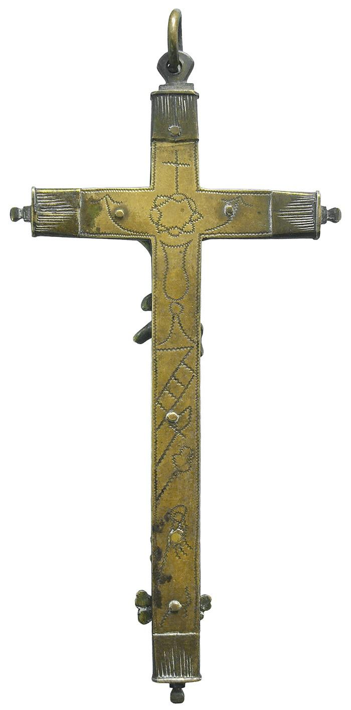 Crucifijo pectoral - CC115 HiTPF5
