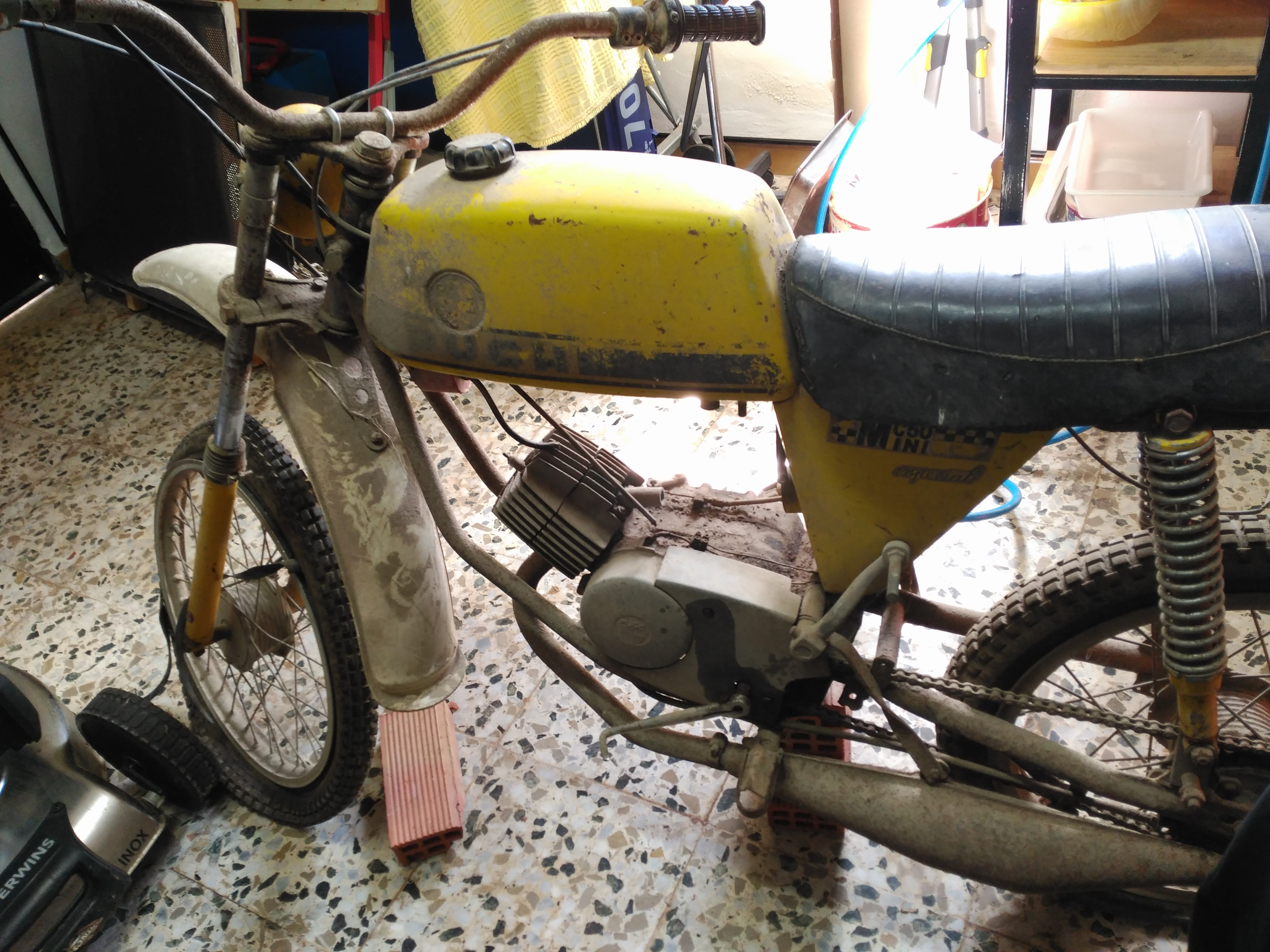 Restauración Puch Minicross 50 Mini Especial JldbLT