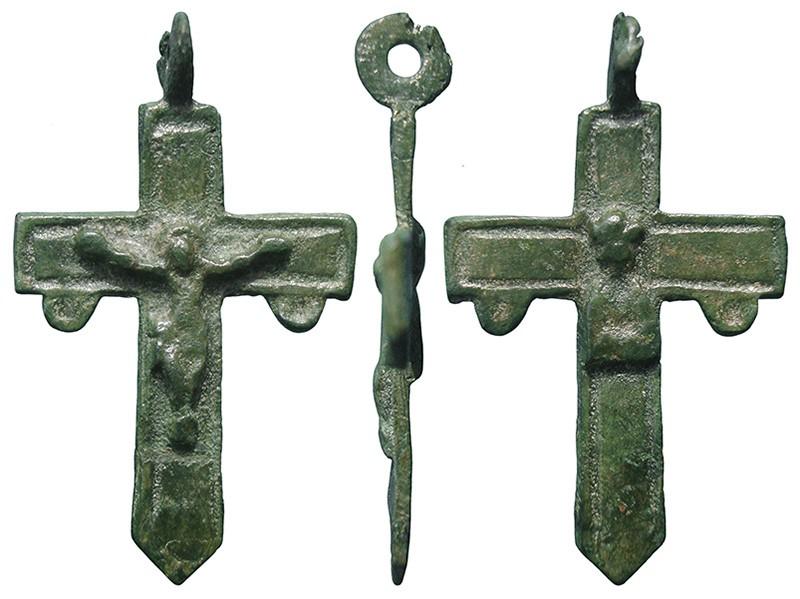 Crucifijo pequeño del Santuario de Liesse - CC119 Lw5otl