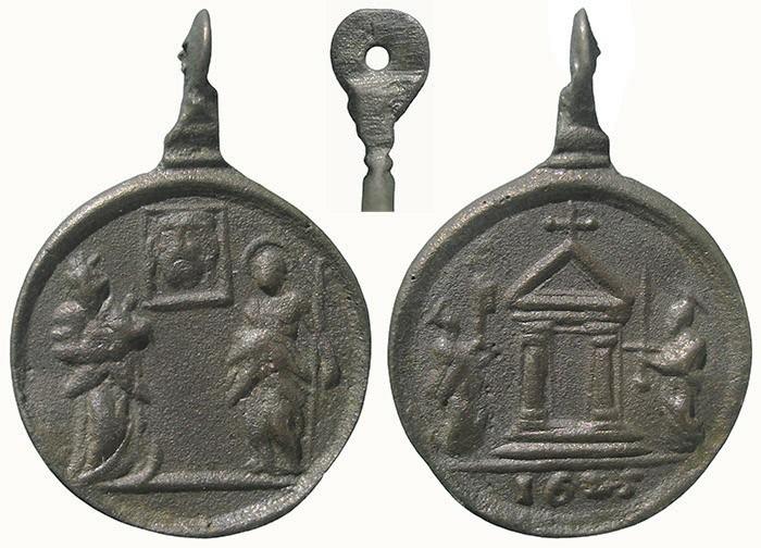 Jubileo de 1625 - Santa Faz de Jesús / Puerta Santa - MR725 (R.M. SXVII-C102) PVAI3X