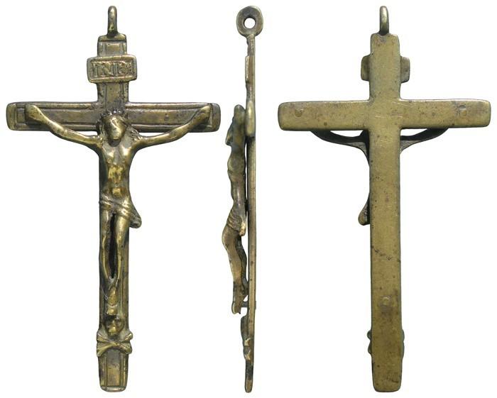 Crucifijo con reverso liso -  CC104  QY3wlJ