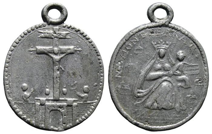 Calvario de Arrás /Virgen de Montserrat - MR593 (R.M. SXVIII-O395) RB395I