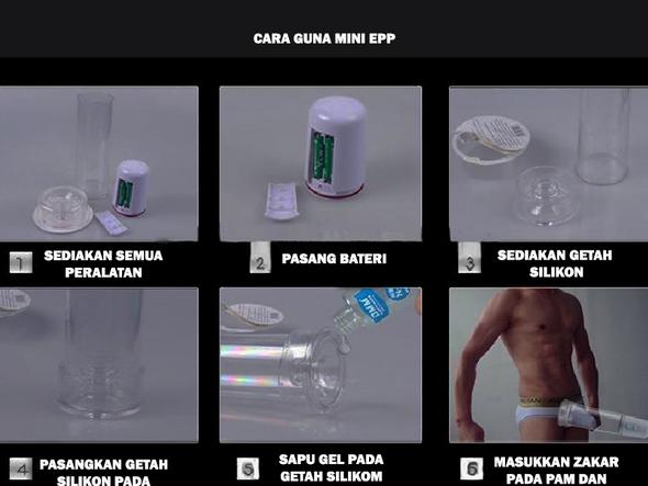 Mini Energy Power Pump | Pam Automatik Untuk Tambah Saiz Zak RYsQS3